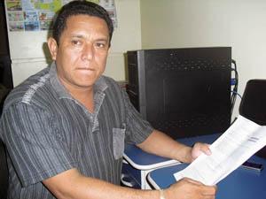 Motorista Cristovão Cantuária: ação rápida da PM nem sempre ocorre