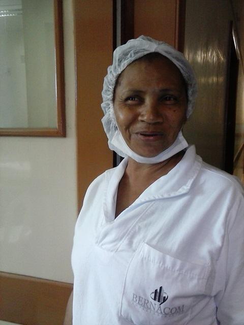 Funcionária terceirizada Marinilde Miranda: 3 meses sem salários