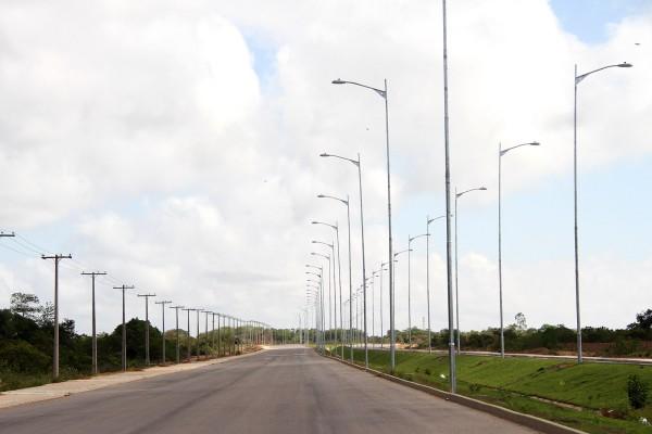 Rodovia Norte Sul é uma das obras iniciadas com recursos do banco. Foto: Agência  Amapá