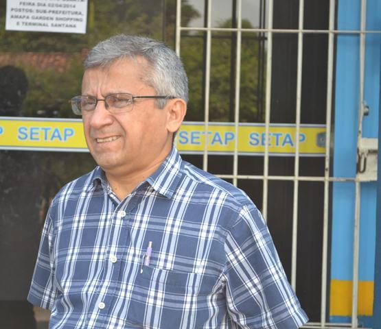 Artur Sotão, diretor de bilhetagem do Setap