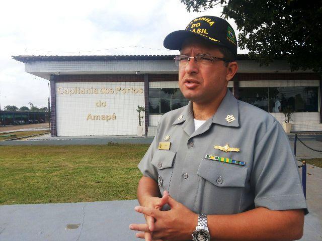 Capitão Lucio Marques: navio especial está ajudando nas buscas