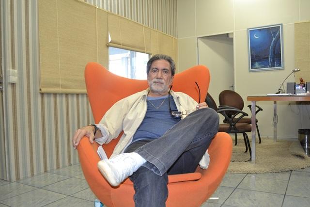 """Sobre a fundação do Diário do Amapá: """"eu queria um negócio pra tocar com a família, meus filhos..."""""""