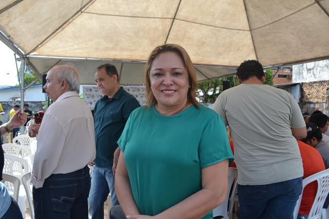 Dep. federal Dalva Figueiredo (PT), autora da emenda que resultou na construção do centro