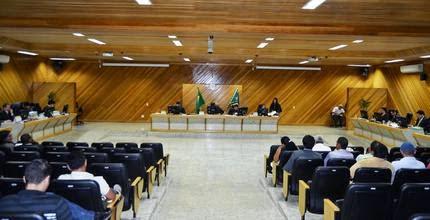 Imagem da sessão que manteve a cassação de Valdo Isacksson
