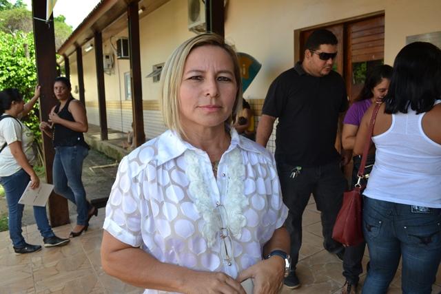Mari Leia Nunes, presidente do sindicato: sobrecarga, agressões e perigo de contaminação