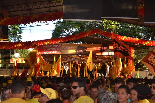 Convenção foi realizado na quadra da Escola Azevedo Costa, no Laguinho
