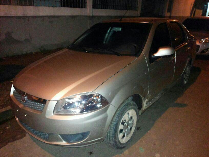 Carro encontrado no depósito no Coração pronto para ser transportado a Altamira
