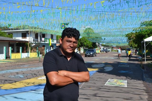 Rodival Mesquita, idealizador do projeto: na Copa da 2010 a avenida ficou muito suja