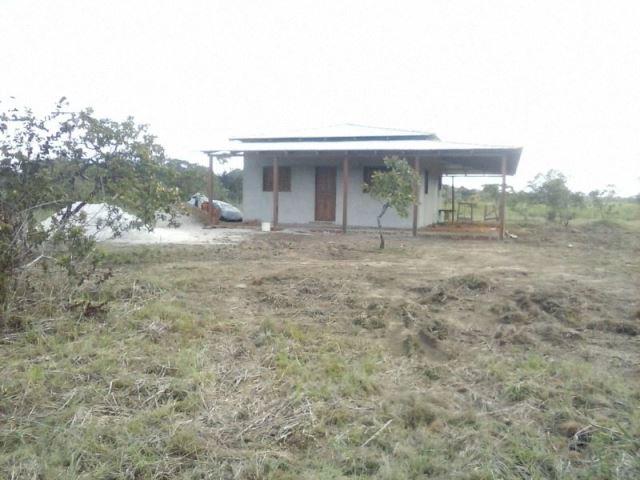 Casa na comunidade do Cedro que servia como base dos bandidos