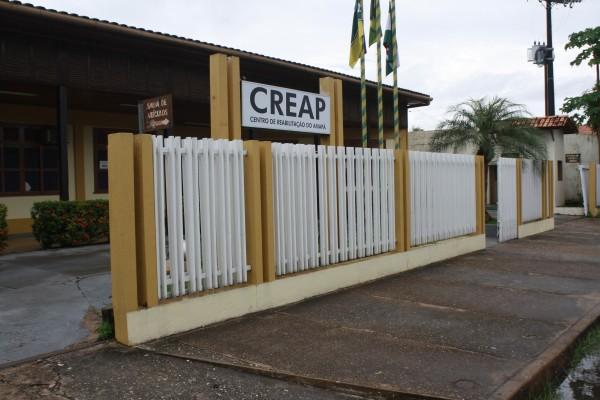 Creap tem 30 fisioterapeutas que se dividem em turnos