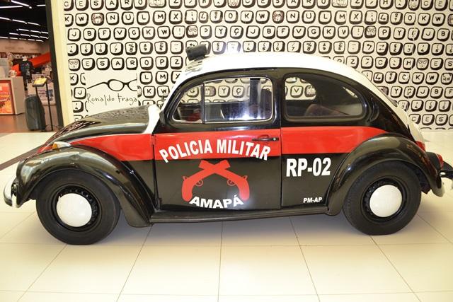 fusca da policia militar