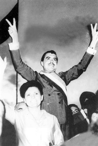 Ao ser empossado governador do Maranhão em 1965. Cinco décadas de poder