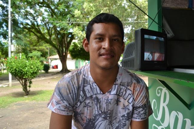Diego Macial, 25 anos.