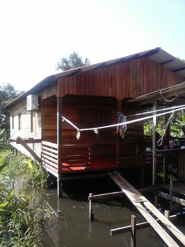 Casa na área de pontes do Universidade com ocorreu o assassinato