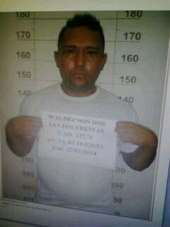 Waldecson Santos estava em liberdade desde 21 de maio. Foto: PM
