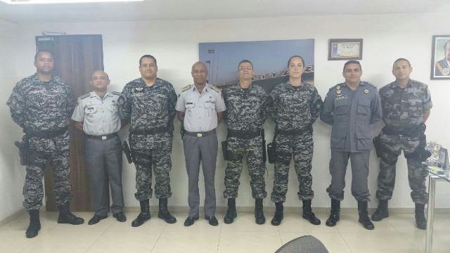 Policiais do Choque no DF