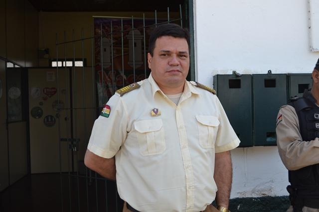 Inspetor Ruy Secco, subcomandante da Guarda Municipal