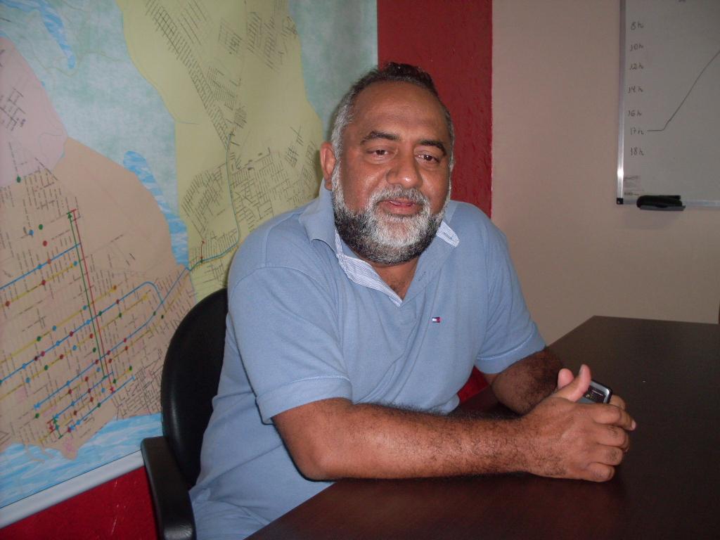 Presidente do Setap, Décio Melo