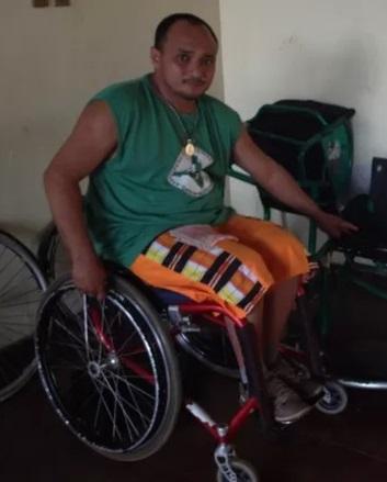 José Carlos, presidente da Associação de Deficientes Físicos: problema parecido em outras cidades do interior