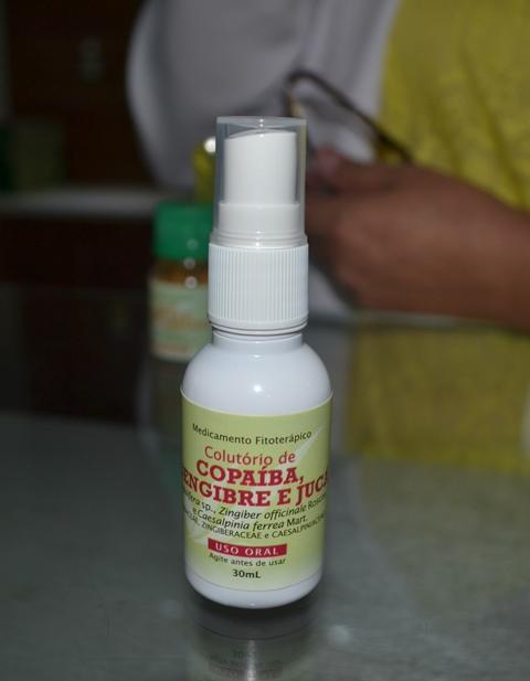 Colutório de copaíba: infecção de garganta
