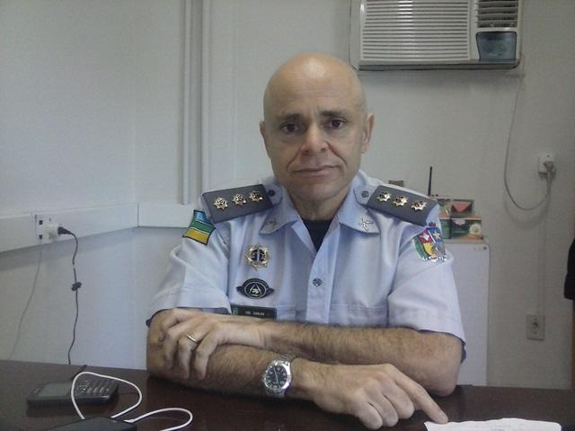 Corregedor-geral da Polícia Militar do Amapá