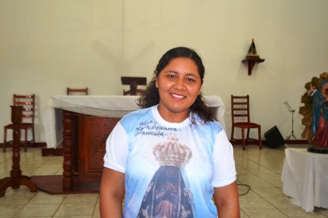 Luana Nunes, devota verá a imagem oficial pela primeira vez