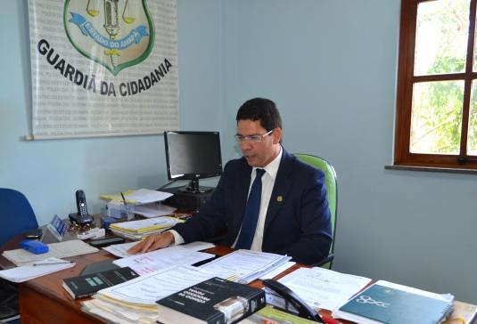 Delegado Ronaldo Coelho: principal porta de entrada continua sendo Santana