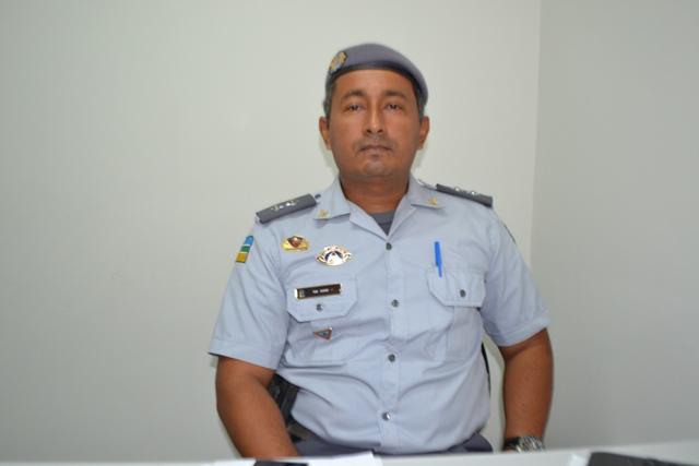 Tenente Vagner, um dos coordenadores da ação