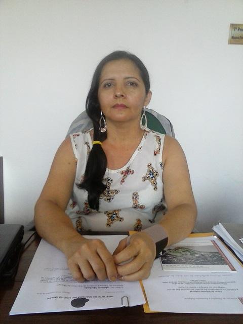 Aldinéia Machado, gerente da Fortaleza de São José