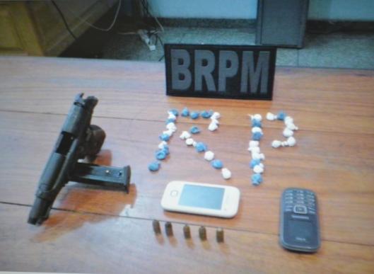 Armas usadas por bandidos no Amapá vêm do Pará