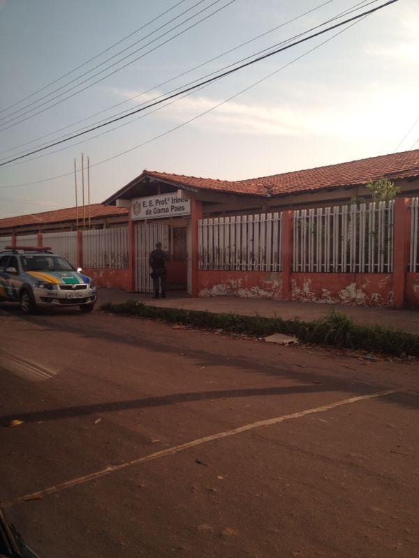 Uma das prisões de vigilantes ocorreu na Irineu da Gama Paes, no Congós
