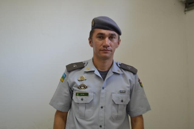 Tenente Emerson Real, da Comunicação da PM
