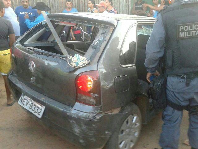 Motorista e passageiros ficaram presos na Delegacia de Porto Grande