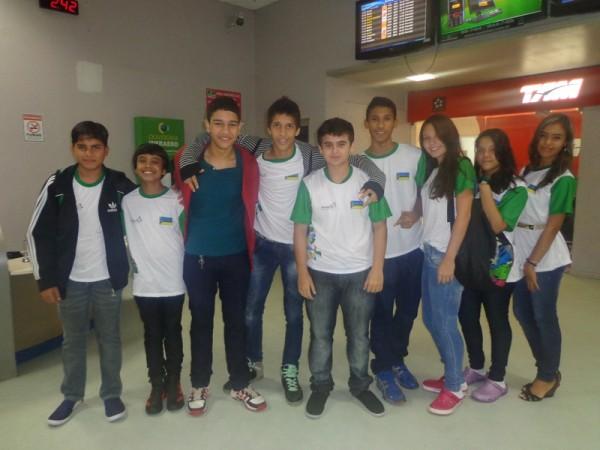 Estudantes do Amapá rumo aos Jogos da Juventude