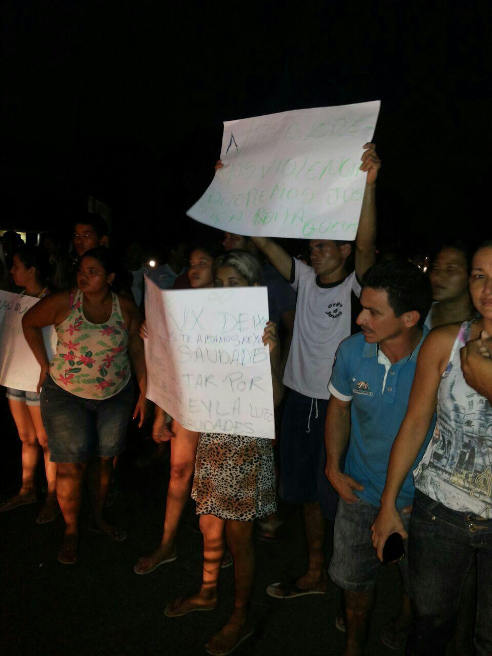 Moradores revoltados pedem sinalização no trecho