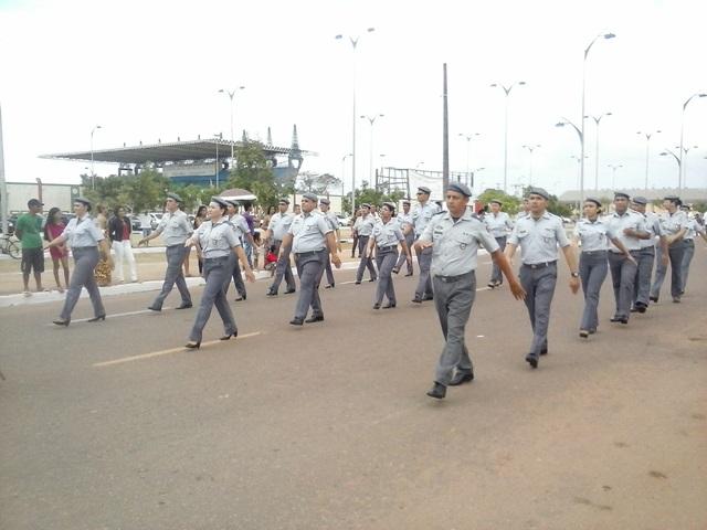 Desfile da Polícia Militar