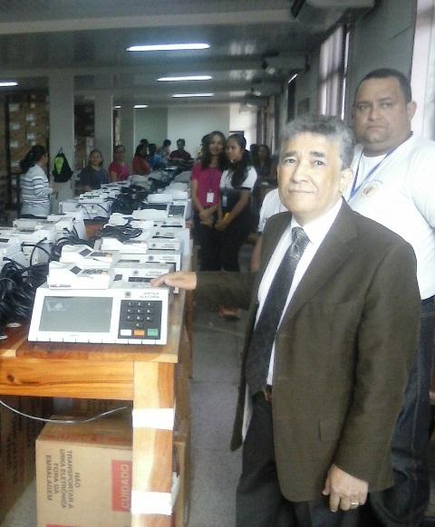 Juiz Reginaldo Andrade: a carga é feita com transparência