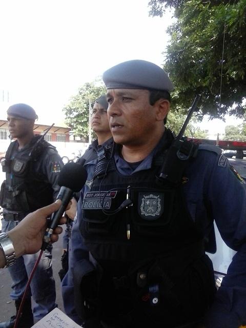 Sargento Jorge Sá comandou a prisão dos assaltantes