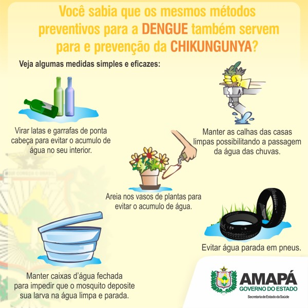 Cartaz de informações sobre a doemça