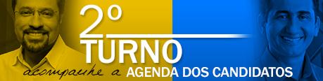 Agenda dos candidatos em 24 de Outubro