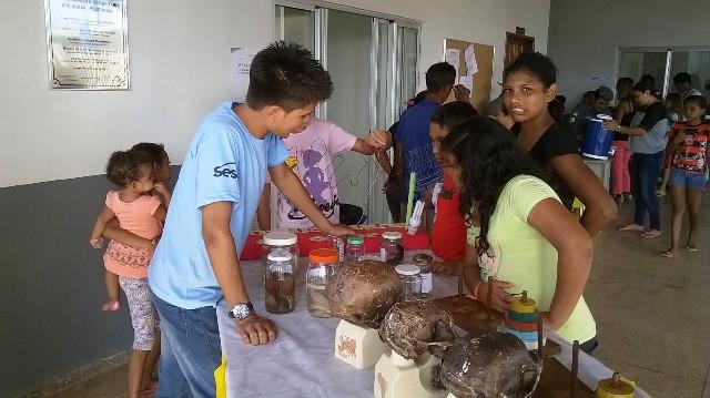 Adolescentes e jovens participam das oficinas