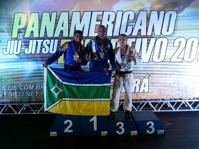 Este mês Gilberto foi campeão Panamerticano de Jiu Jitsu