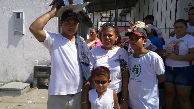 Josenildo e a família: casa própria