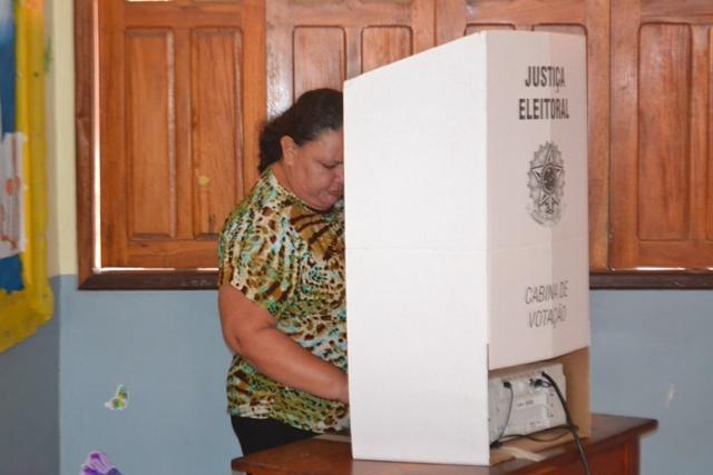 Teresa Cristina: votou rápido para pegar o açougue aberto