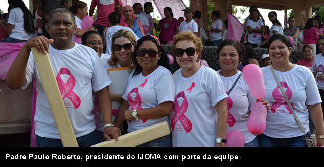 """Outubro Rosa: """"Tive sorte"""", diz mulher com câncer"""