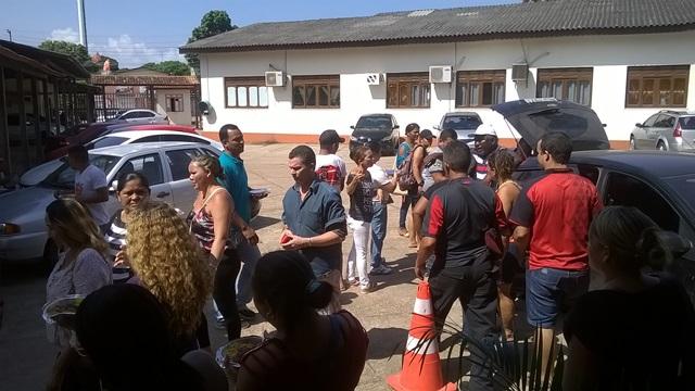 Vigilantes dizem que vão continuar protestando até receberem seus salários