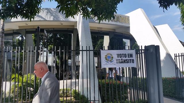 Voto em trânsito na Casa da Cidadania
