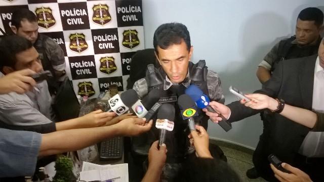 Delegado Celson Pacheco etá conduzindo os depoimentos. Fotos: Arquivo