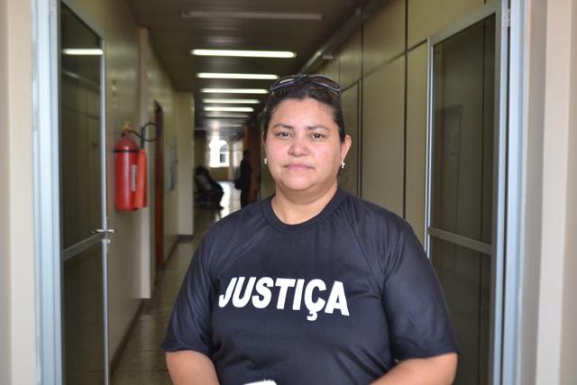 Jorivana Brito, irmã do cabo: medo da prescrição
