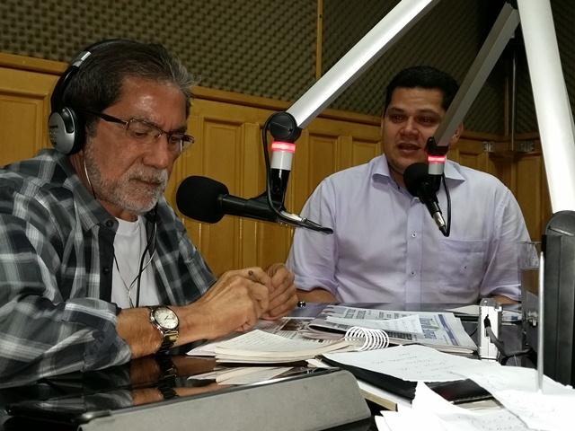 """Davi em entrevista ao jornalista Luiz Melo: """"não esperava outra coisa"""""""